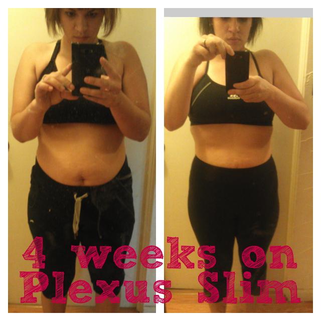 Plexus Slim Before And After 1 Month One month update: plexus slim