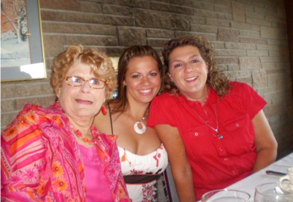 Grandma, me and Mama Summer 2009