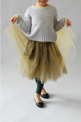 tutu and sweater style