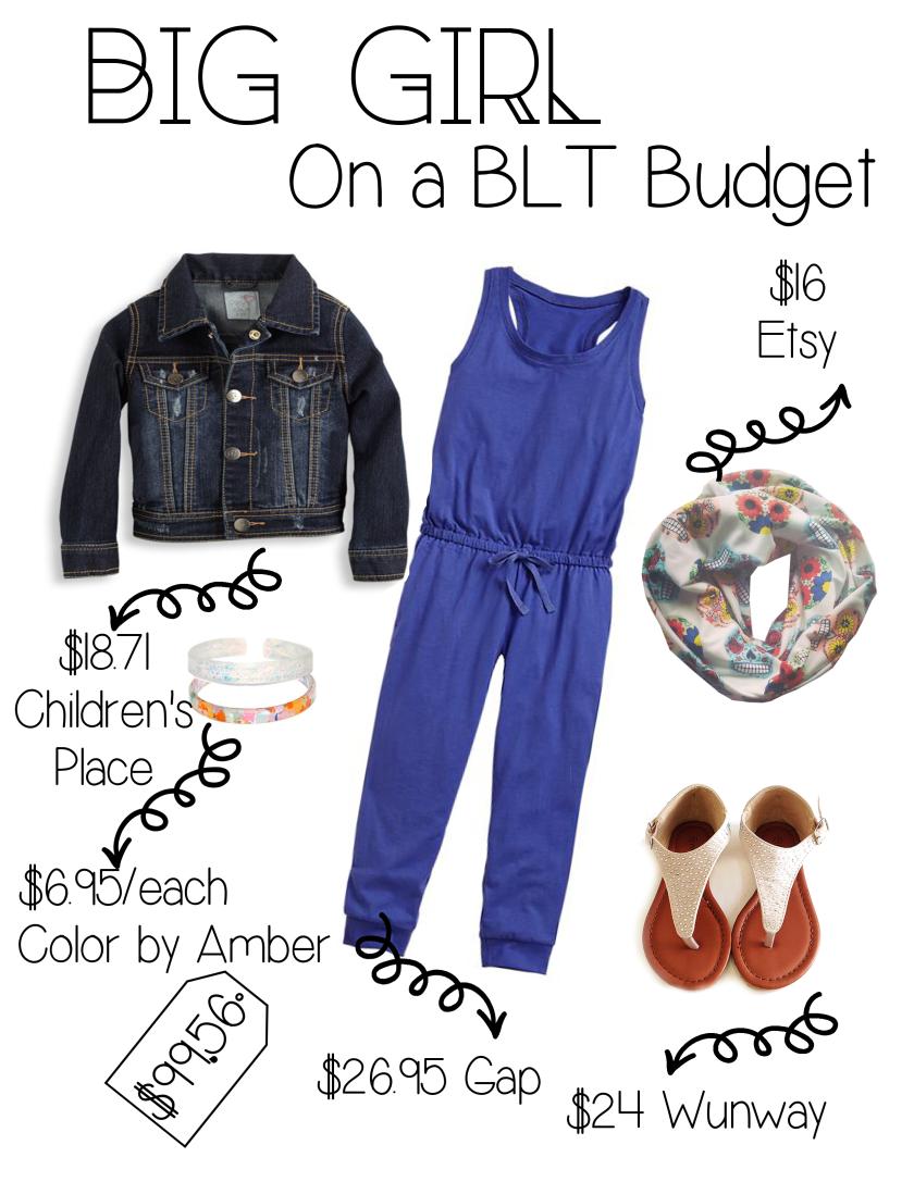 blt budget girl