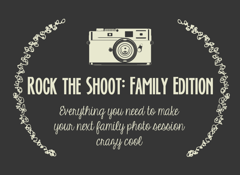 Rock the Shoot: Family Edition. A blogging collaboration with LifeStyled by Elle and Fairy Wings and Dinosaurs