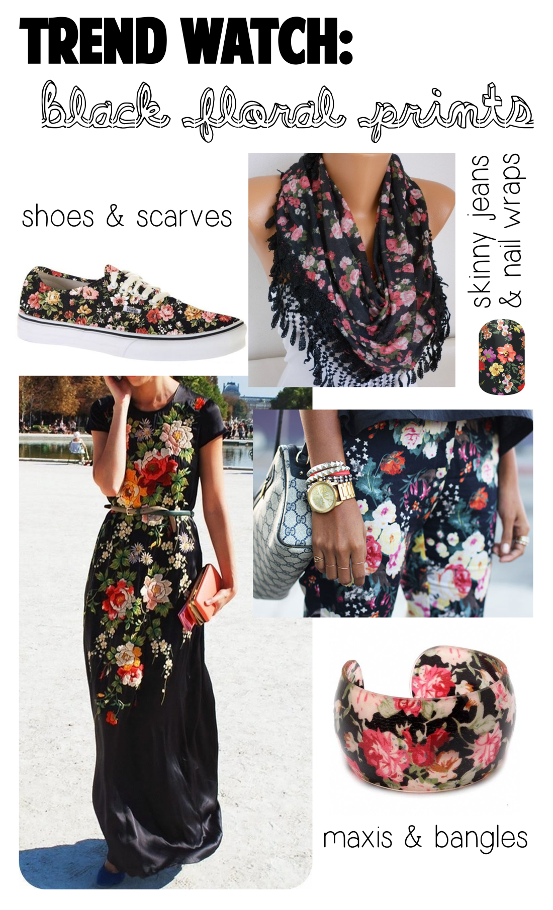 trendwatch black floral
